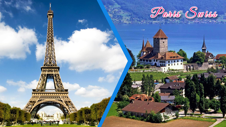 ITALY, SWISS AND PARIS 9N/10D